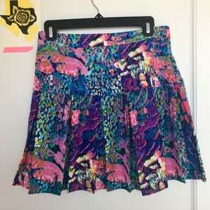 Flirty high waisted party skirt